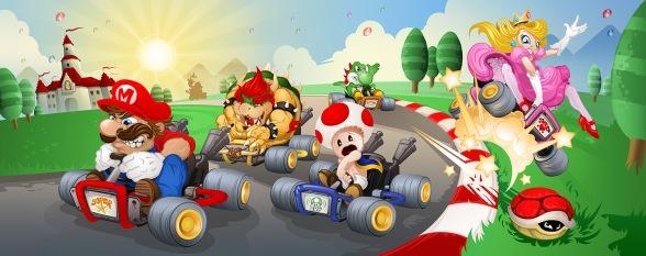 Mario Kart Mad Dash