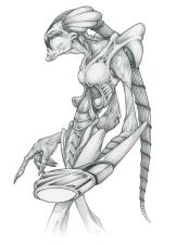Alien design concept