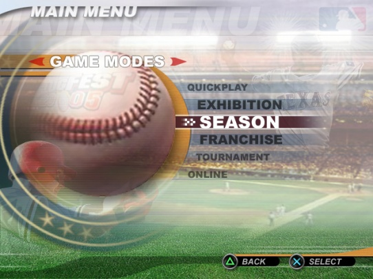 Main Menu - Midway Games