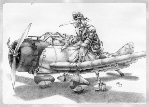 Zero fighter Pilot